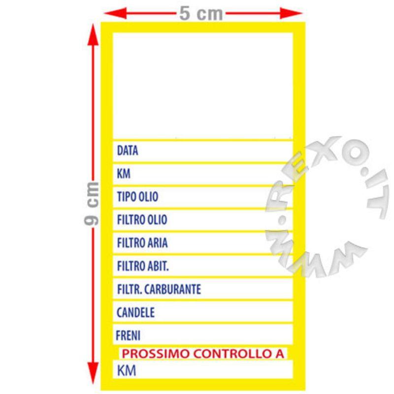 Adesivi-Cambio-Olio/Filtro